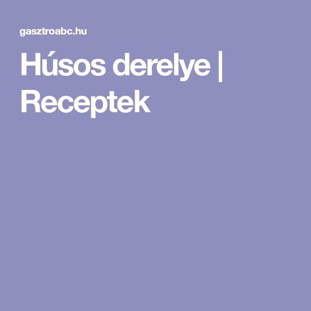 Húsos derelye | Receptek