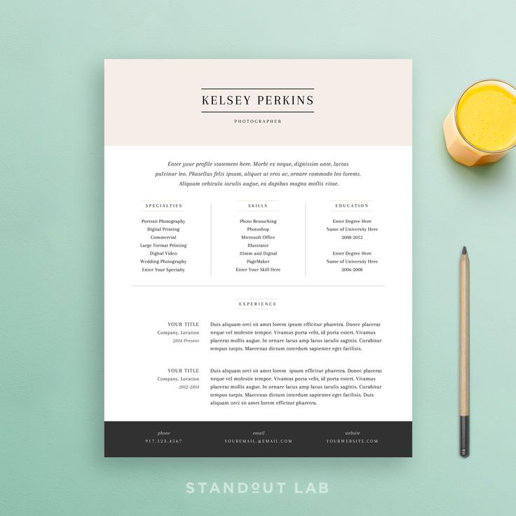 9 best Monogram Resume Templates images – Simple Cover Letter Template Word