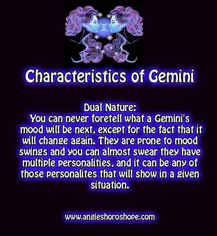 Gemini personality profile male