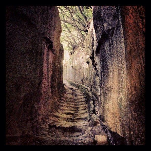 L'emozione di camminare lungo le vie cave. Un trekking di vadoevedo