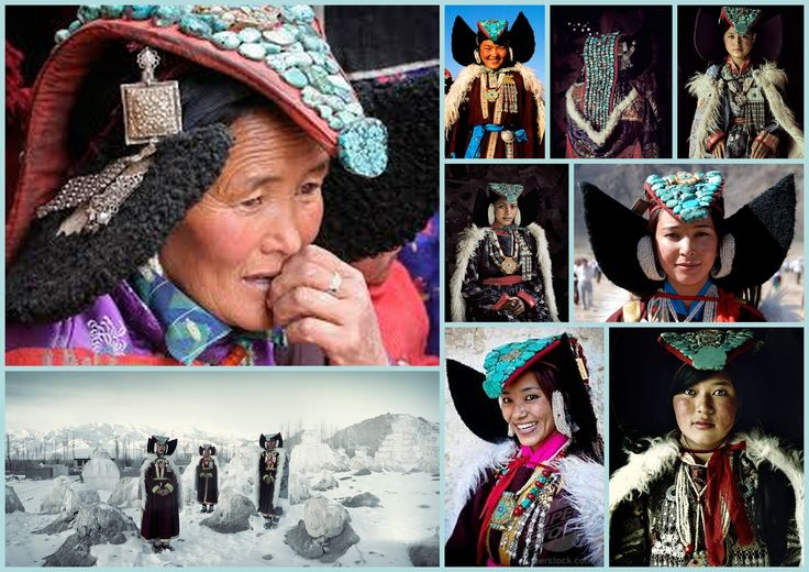 Mujeres Ladakhis