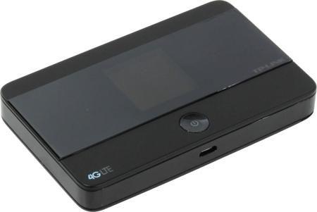TP-LINK M7350 (черный)  — 6190 руб. —  Мобильный роутер TP-LINK M7350 использует встроенный модем 3G/4G для получения доступа к глобальной сети. Он обеспечивает подключение к интернету с общей пропускной способностью до 150 Мбит/с для 10 устройств. Автономная работа. Девайс снабжен батареей большой емкости, полного заряда которой достаточно для 10 часов активной передачи данных. Благодаря этому он может использоваться в самых разных условиях – в том числе вдали от населенных пунктов и в…