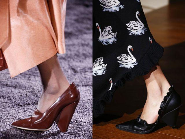 Модная обувь с острым носком осень-зима 2016-2017