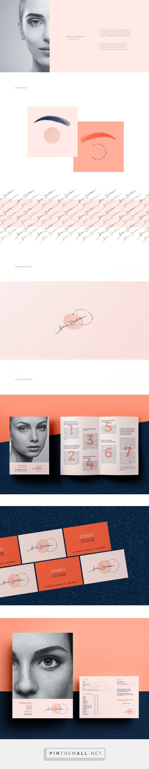 Sara Dalbem Micropigmentation Specialist Branding by Natalia Dalbem | Fivestar Branding Agency – Design and Branding Agency & Curated Inspiration Gallery