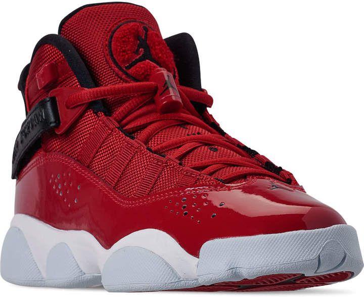 Nike Boys Big Kids Jordan 6 Rings Basketball Shoes Jordan Shoes For Kids Womens Fashion Sneakers Kids Jordans