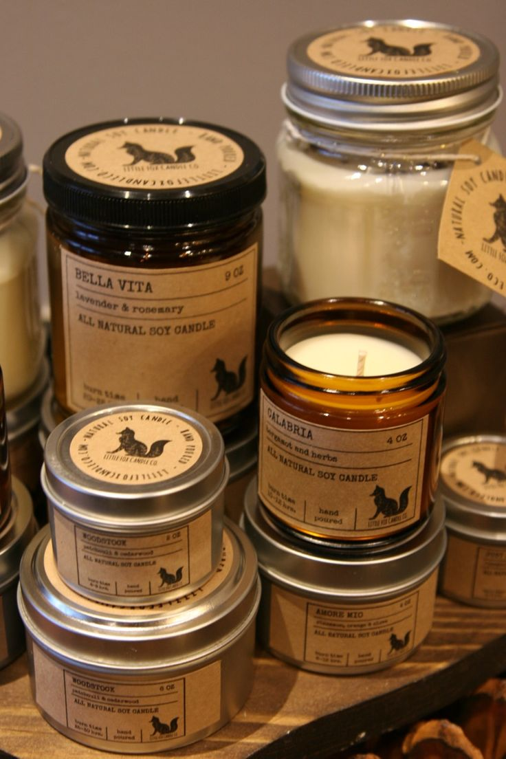 Pure Soy Wax Candles, scented with essential oils from our own custom blends. Burns cleaner, no toxins or pollutants, Will last 30-50% longer than a paraffin candle! Reuse/ upcycle, or recycle candle container.