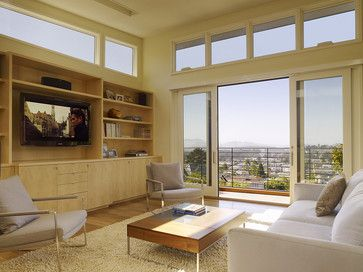 Cole Valley Hillside - modern - Living Room - San Francisco - John Maniscalco Architecture