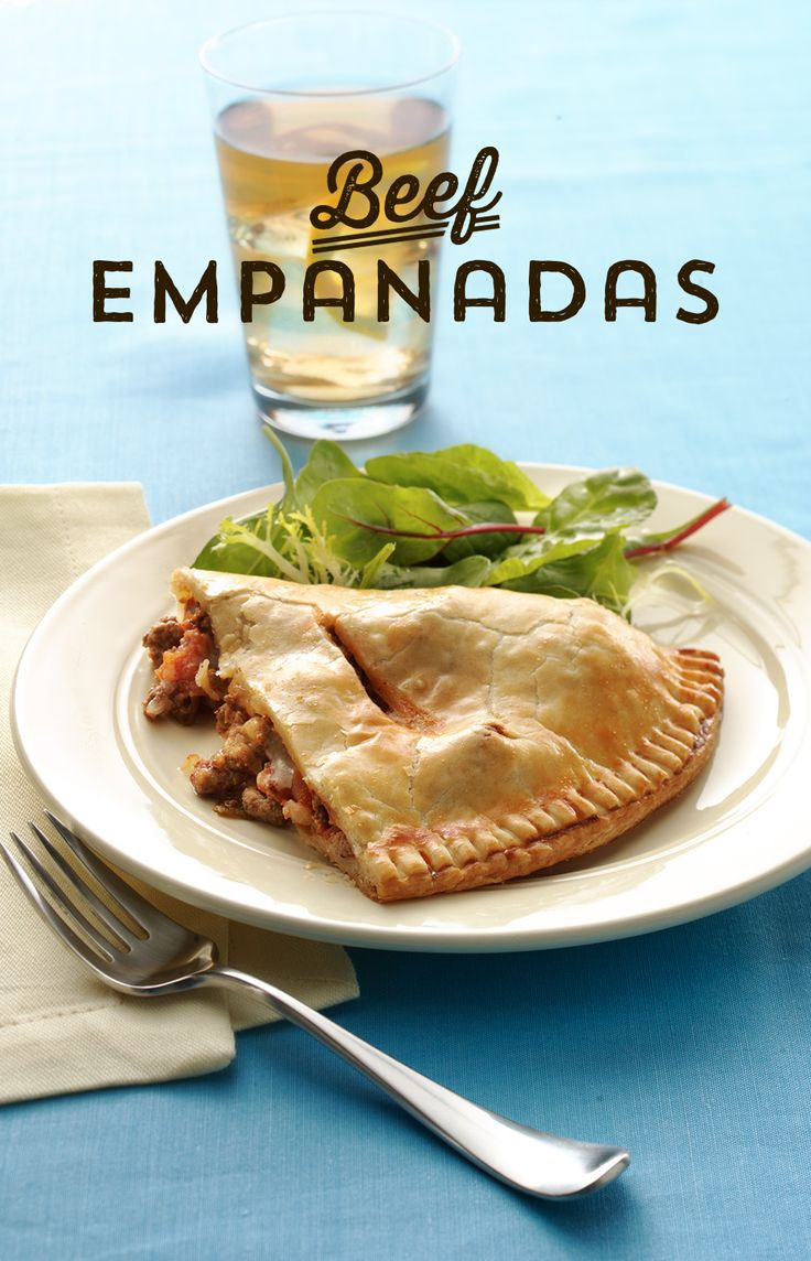Need some inspiration for your Mexican Fiesta dinner? Try these Easy Beef Empanadas! They take only 20 minutes of prep time, and use pre-made pie crust for maximum ease! They pack bold flavors that your whole family will love!