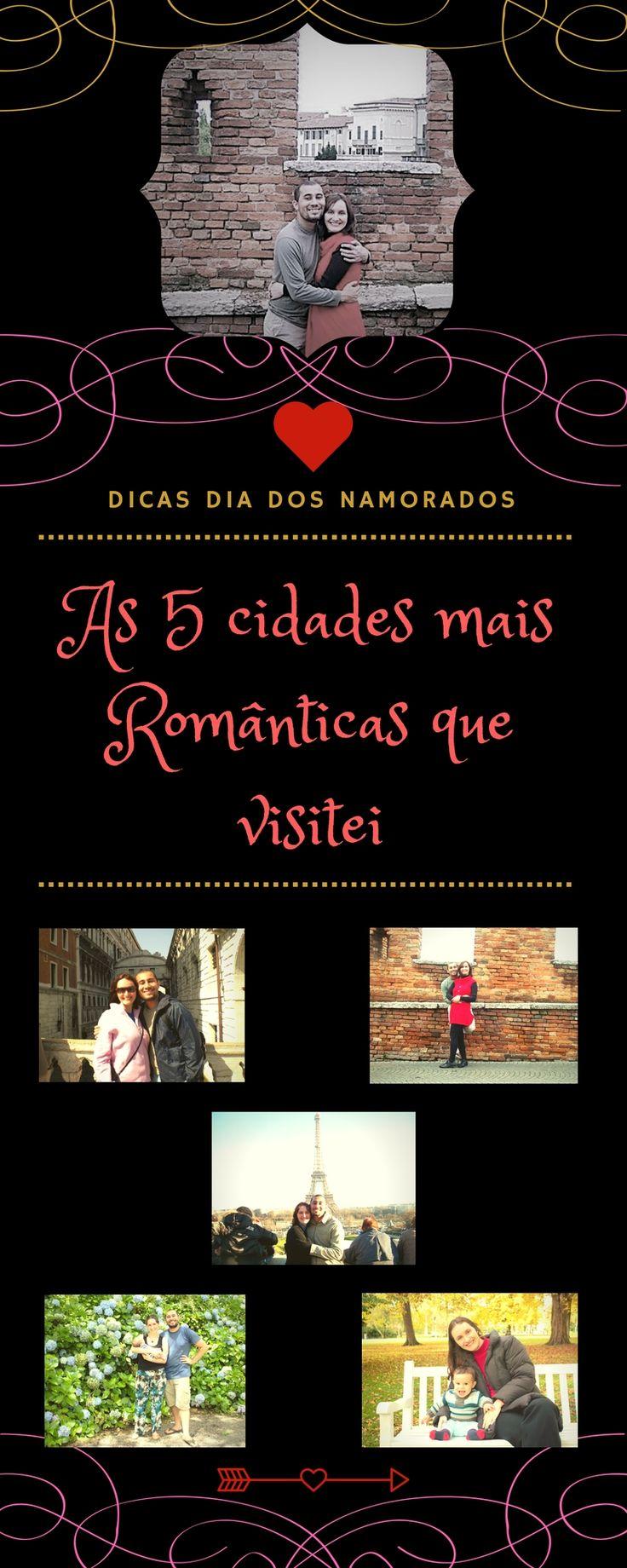 Dia dos namorados está chegando e neste post, que faz parte de uma blogagem coletiva, listei as 5 cidades que visitei e que considero mais românticas: Gramado/Canela, Haia, Paris, Veneza e Verona. Você concorda comigo?