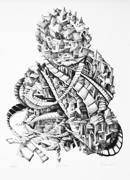 Zobeide, Lithography