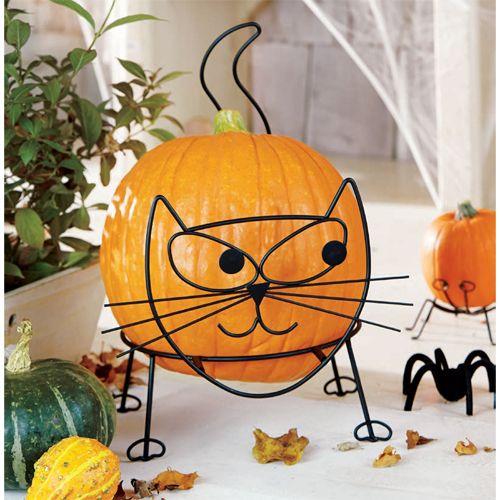 Pin By Fancy Flours On Halloween Cat Pumpkin Pumpkin