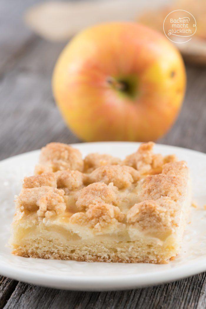 Apfel Schmand Kuchen Mit Streuseln Rezept Rezepte Pinterest