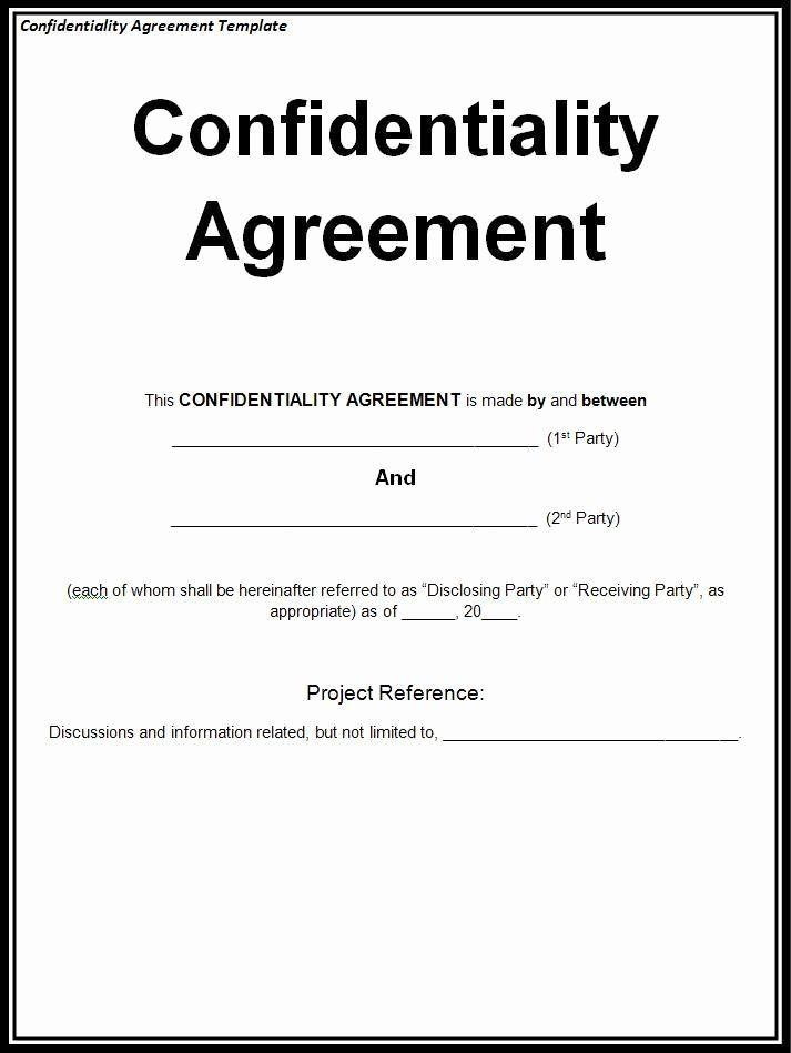 Employee Relocation Agreement Sample New Confidentiality Agreement