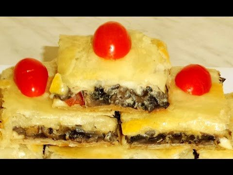 Plăcintă Cu Ciuperci În Stilul Meu ⋆ Dalida Cuisine