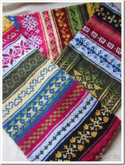 57 best images about Fair Isle Knitting on Pinterest | Fair isles ...