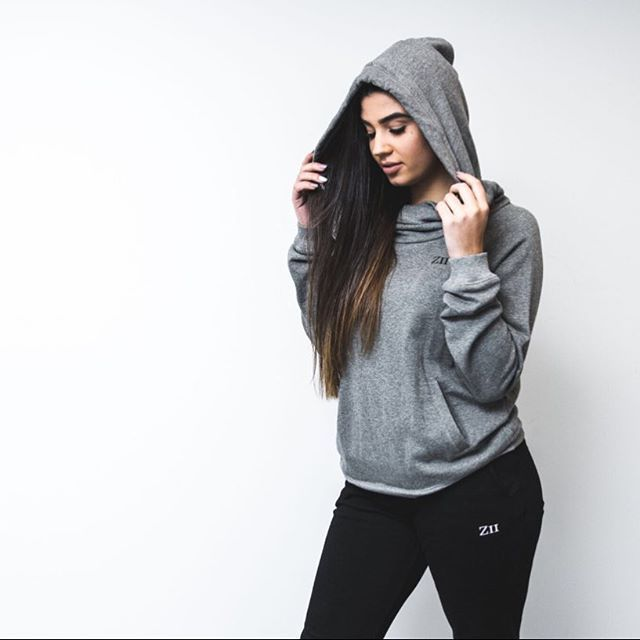 We are only down to few pieces of our grey hoodies and won't be restocking! Grab…