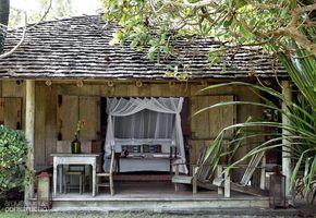 Cabana de 45 m² abriga uma suíte de sonho - Casa