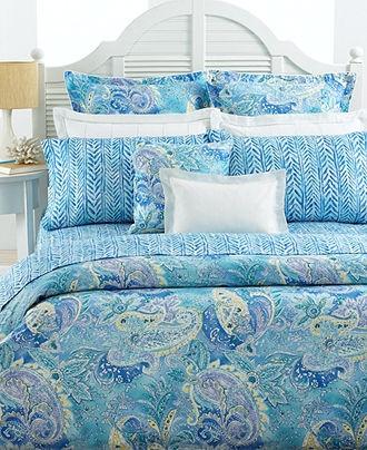 Lauren Ralph Lauren Bedding Jamaica Blue Paisley