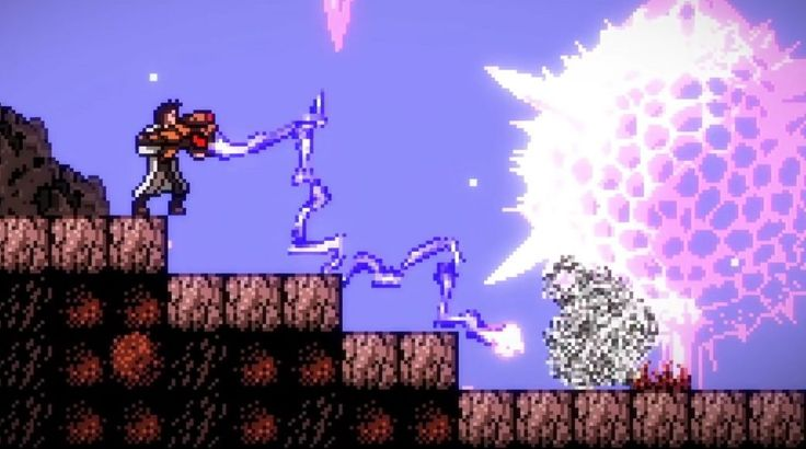 Axiom Verge on Xbox One