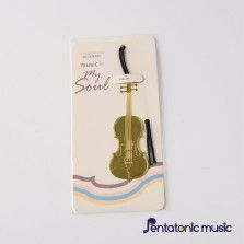 Musical Instrument BookMark - Violin