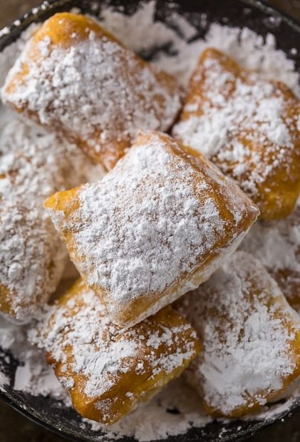 Now you can have New Orleans-Style Beignets without leaving home! We're heading to New Orleans for vacation today! And I'm SO ready for it. But before we head to the airport, I'm popping in so I can share these New Orleans-Style Beignets with you. And while I can't say they're exactly as good as the...