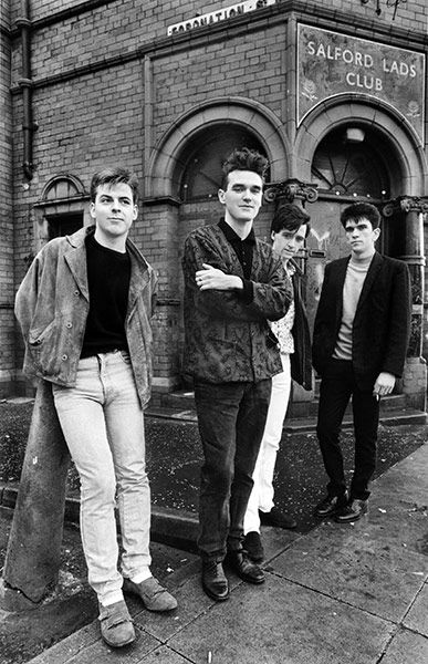 The Smiths: Morrissey, Johnny Marr, Mike Joyce and Andy Rourke.