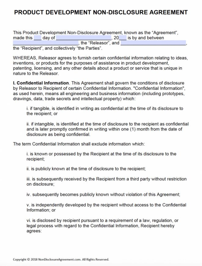 Explore Our Image Of Short Non Disclosure Agreement Template For Free Non Disclosure Agreement Professional Templates Business Template