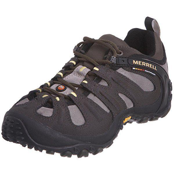 Amazon Com Merrell Men S Chameleon Slam Ii Walking Shoe Orange 7 5 D M Us Trail Running Merrell Shoes Mens Trail Walking Shoes Shoes