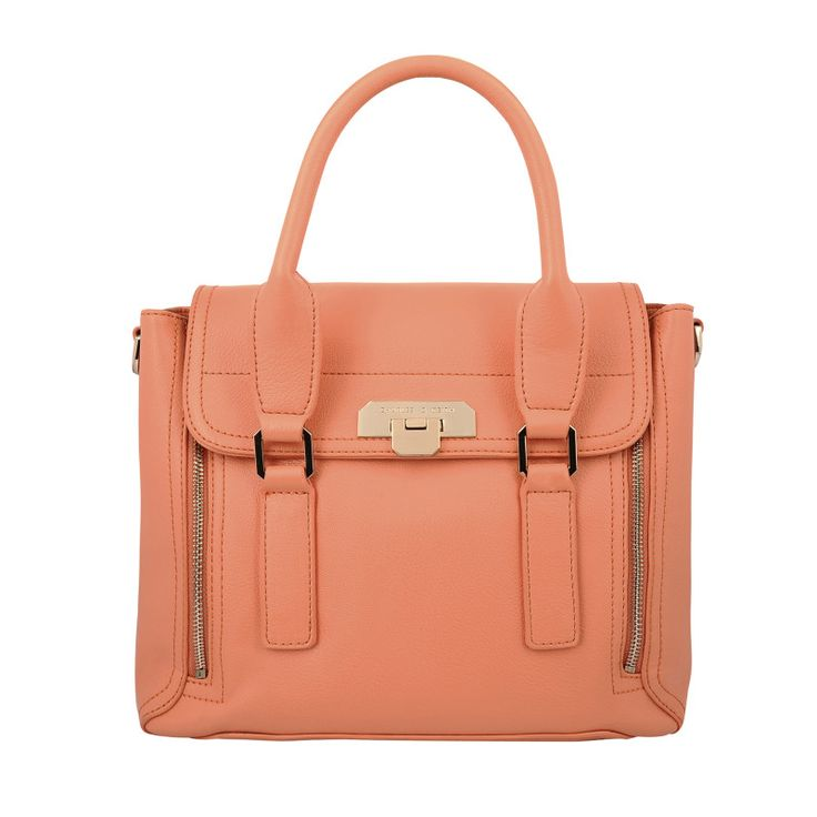 New collection of shoes and bags from Charles and Keith - via kimgray.co.za. This coral is just peachy ;)