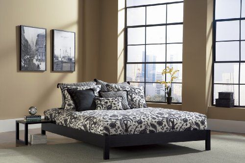The Murray Black Platform Bed by Leggett and Platt. The Murray platform is a part of Fashion Bed Group's new Urban Options Collection: a group of beds and daybeds designed to provide the purchaser various choices. That is only a bare bones platform box, designed for use with a mattress only, without attaching a headboard. …
