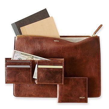 Gentleman's Pigskin Wallet #makeyourmark