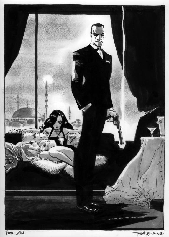 James Bond by Tim Sale  #007 #jamesbond