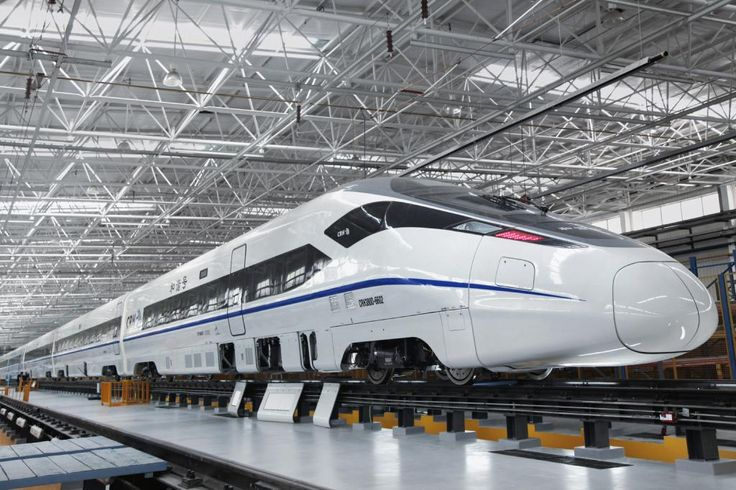 Innovation: Try one of the world's fastest very high speed trains. One of the most eco-friendly trains: the ZEFIRO 380! Follow Bombardier on linkedin !