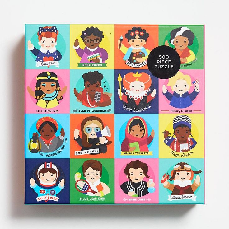 Little Feminist Puzzle Paper Source Birthday gifts for