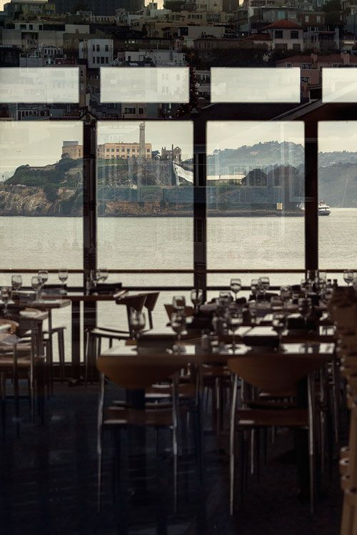 Alcatraz (view from Green's restaurant, Fort Mason)