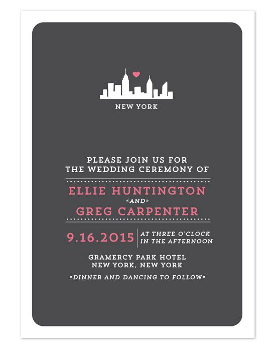 Kleinfeld Paper - Urban Love Wedding Invitations Wedding Invitations - Kleinfeld Paper - Urban Love Wedding Invitations Wedding Invitation