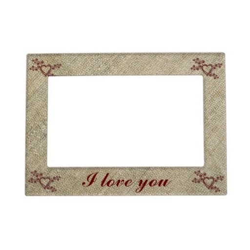 Raw silk love magnetic frame | Photos, Magnetic photo frames and ...
