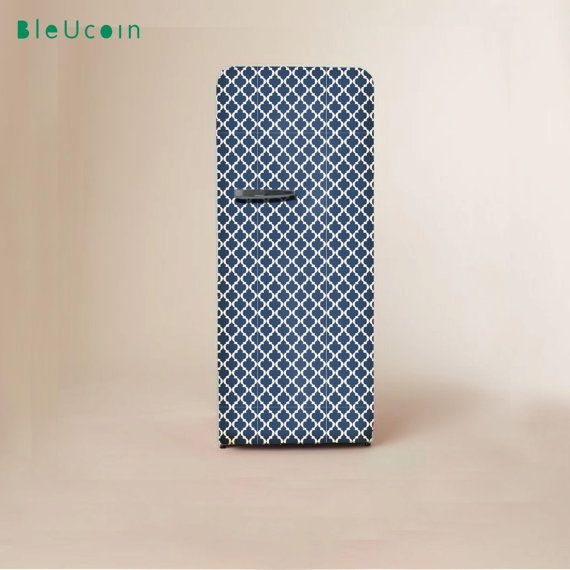 Fridge home appliance decal :Classic Moroccan Pattern by Bleucoin
