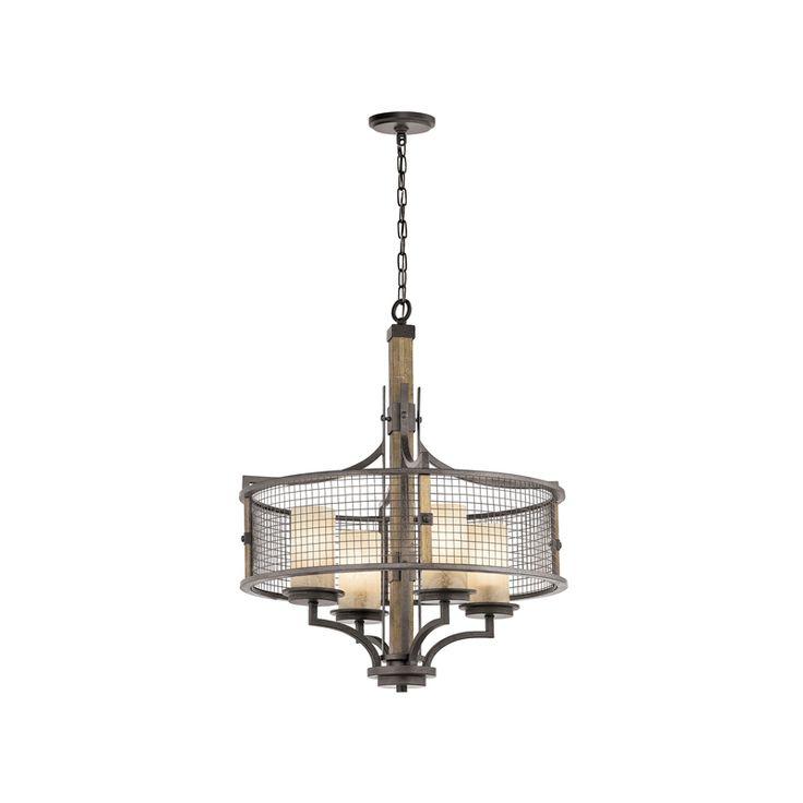 Ahrendale Four Light Chandelier - Elstead Lighting KL/AHRENDALE4 - Netlighting Ltd