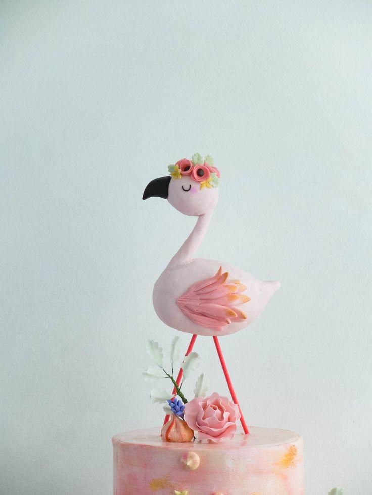 Flamingo Cake Topper Uk