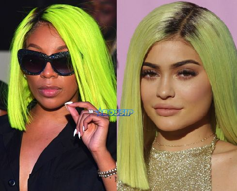 K. Michelle Sends A Petty Message To Kylie For Copying Her 'Highlighter Hair' -  Click link to view & comment:  http://www.afrotainmenttv.com/k-michelle-sends-a-petty-message-to-kylie-for-copying-her-highlighter-hair/