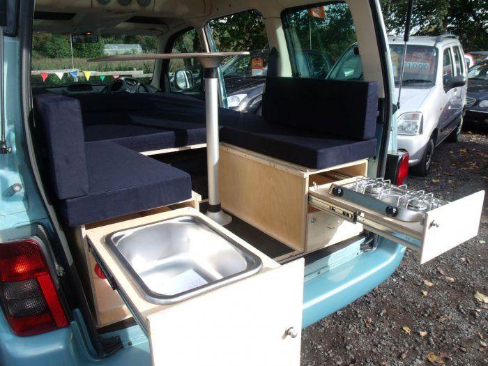 Citroen Berlingo 1.6i 16V Desire 5dr Campervan conversion Camper Van Petrol Blue