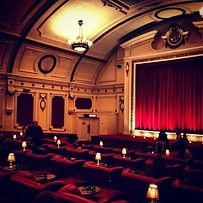 The Electric cinema. So super classy, the Electric is a Notting Hill institution. Double-couches, mood lighting, and red velvet everywhere. Ideal. | The 21 Loveliest Places To Go For A Date In London