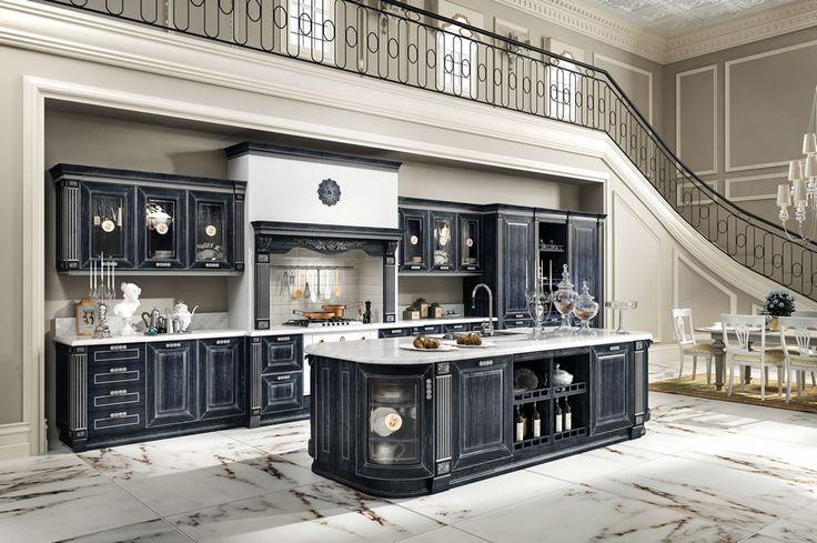 Kuchnia IMPERIAL - Kuchnie - Rad-Pol - Meble Stylowe, meble włoskie, klasyczne meble retro, sofy stylowe, narożniki