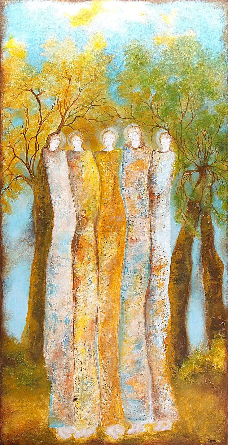 Awakening...60x120cm acrylic canvas