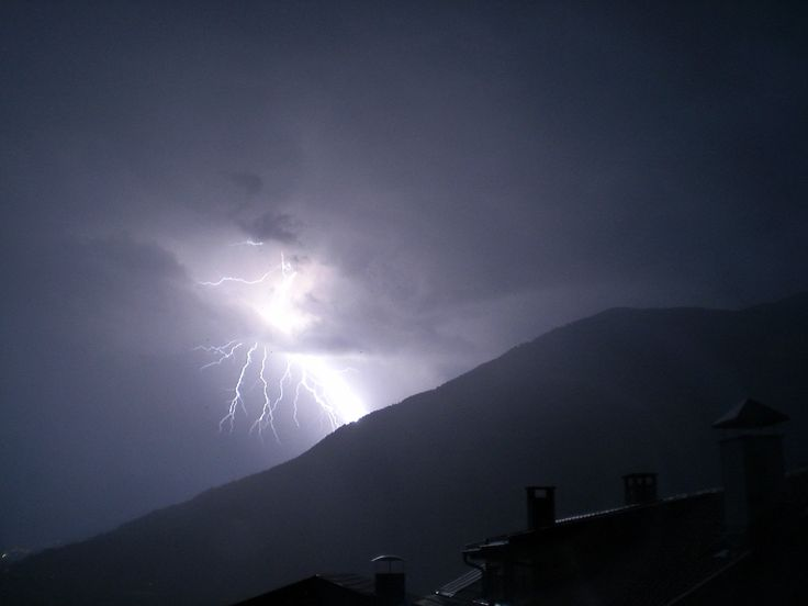 With thunder and lightning!