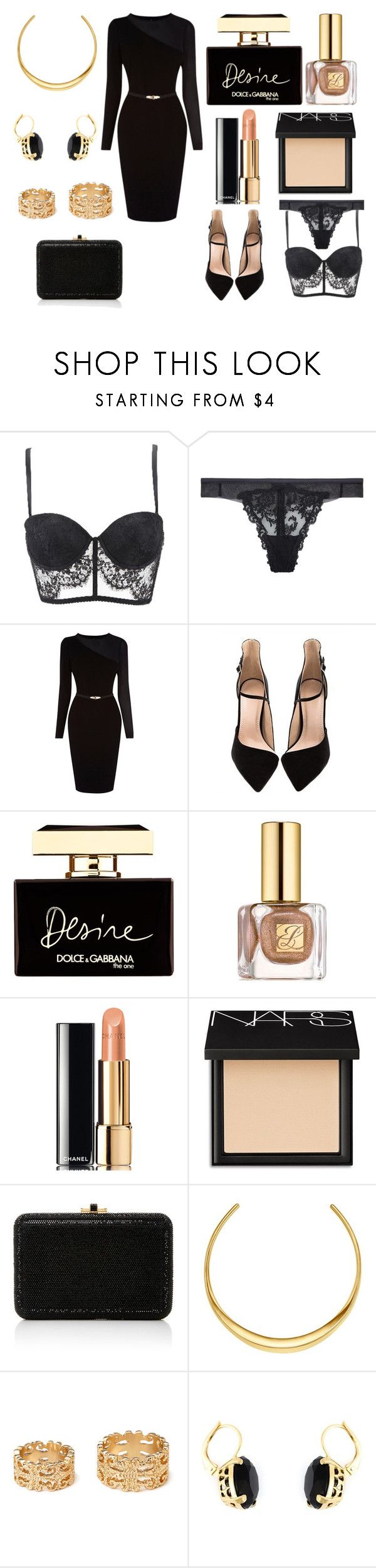 """Без названия #3548"" by southerncomfort ❤ liked on Polyvore featuring Bastyan, Dolce&Gabbana, Estée Lauder, Chanel, NARS Cosmetics, Judith Leiber, Michael Kors, Forever 21 and Wouters & Hendrix"