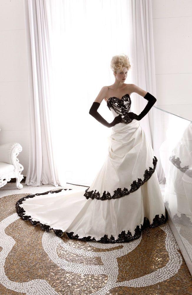 Black Wedding Dress Up : 24 best black wedding dress images on pinterest