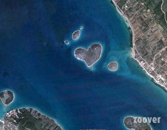 Croatie - L'île de l'amour -Galesnjak
