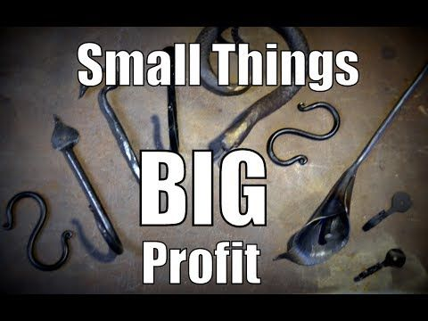 Small Things, Big Profit: Making Money as a Blacksmith - YouTube